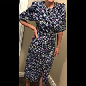 Vintage Willys Influence secretary dress